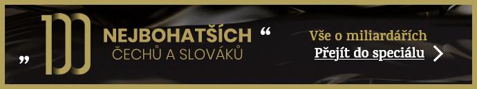 100 nejbohatších Čechů a Slováků